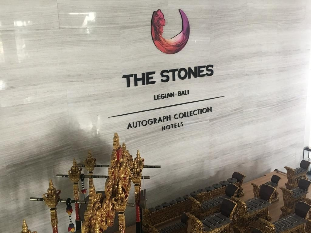 The Stones Legian Bali wall