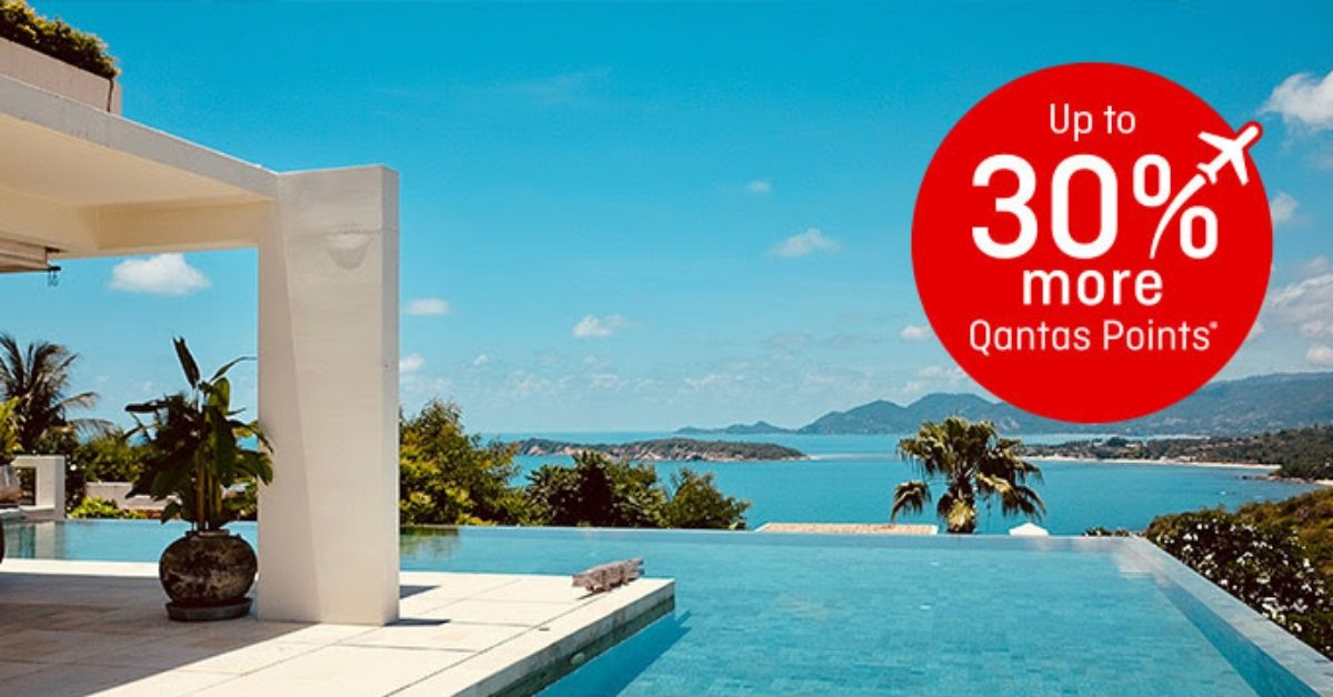 Get up to 30% bonus on Qantas Points transfers this month