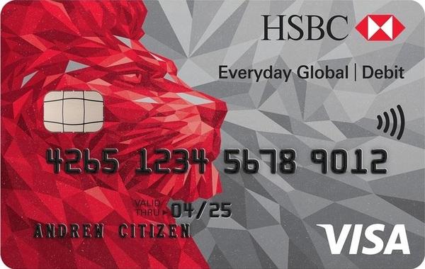 hsbc global everyday card