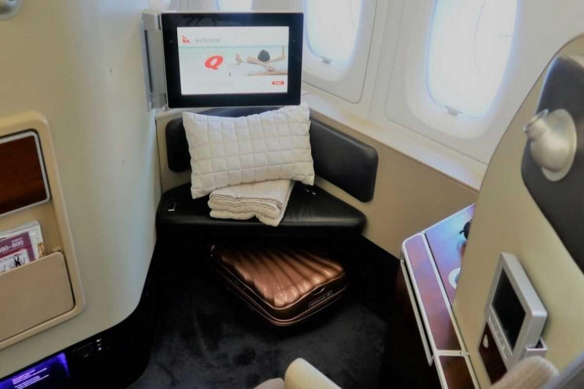 qantas a380 first class suite