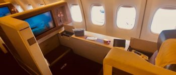Smooth as Silk? Putting Thai Airways First Class to the Test