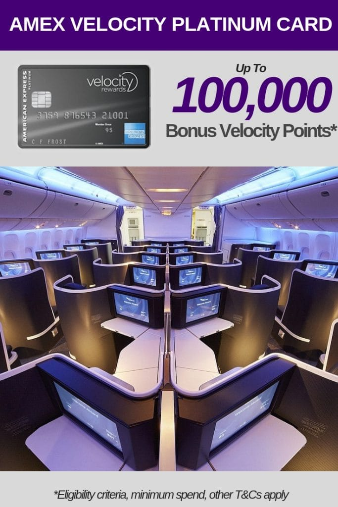 Top Velocity Credit Card Deals upto 100,000 Bonus Velocity Platinum Points
