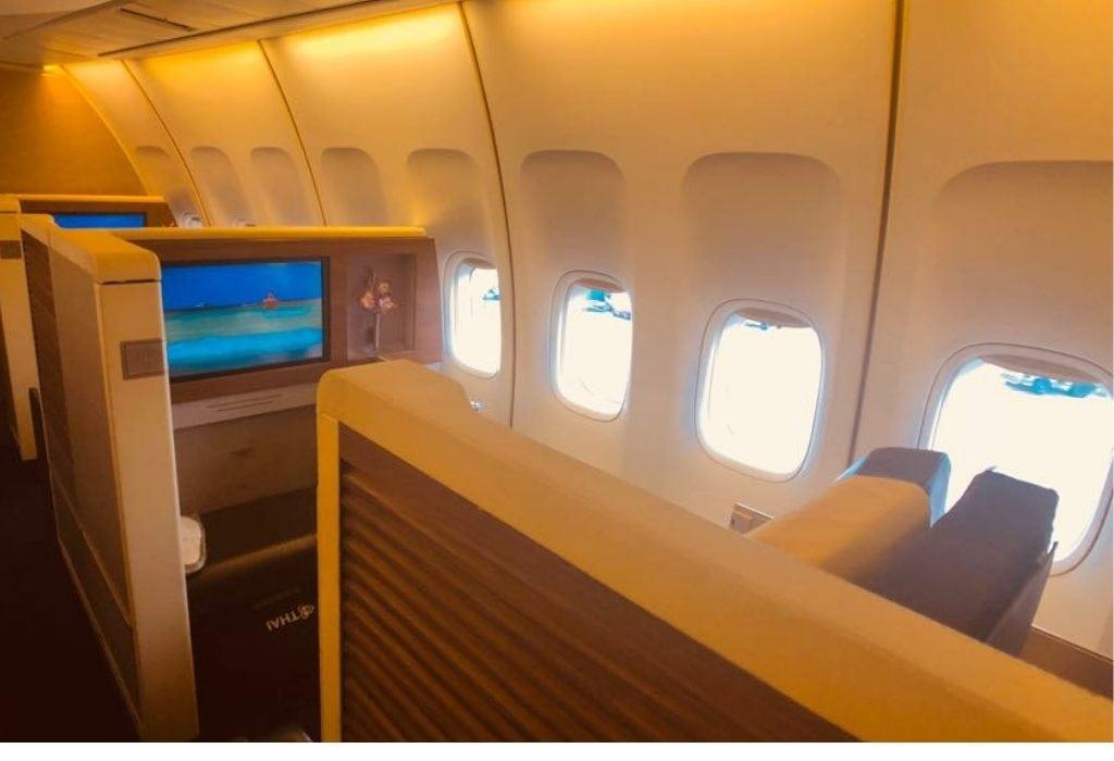 Thai Airways First Class seat