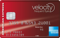 american express velocity escape frequent flyer credit card