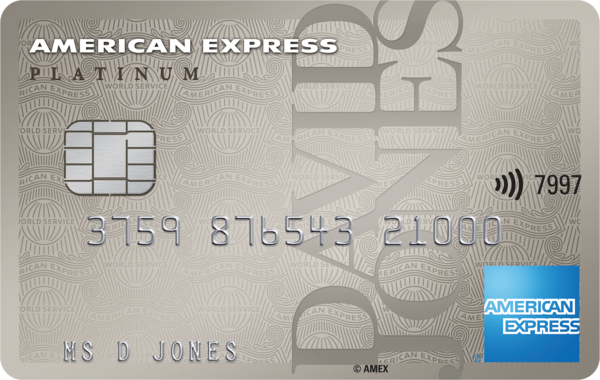 David Jones American Express Platinum credit card