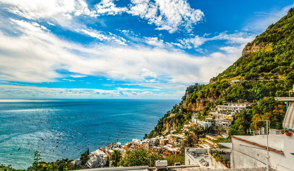 luxury stay positano
