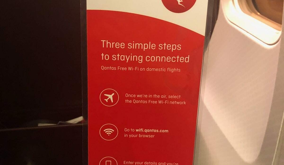 Guide to Qantas inflight WiFi in 2019