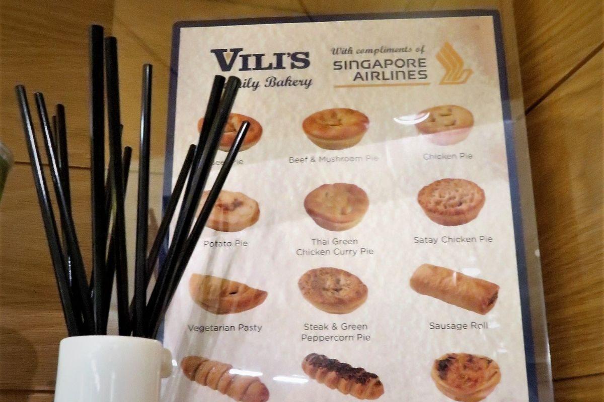 vilis menu