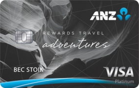 anz travel adventures credit card