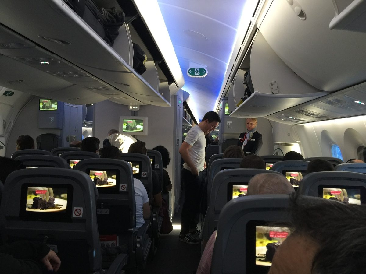 norwegian air economy cabin