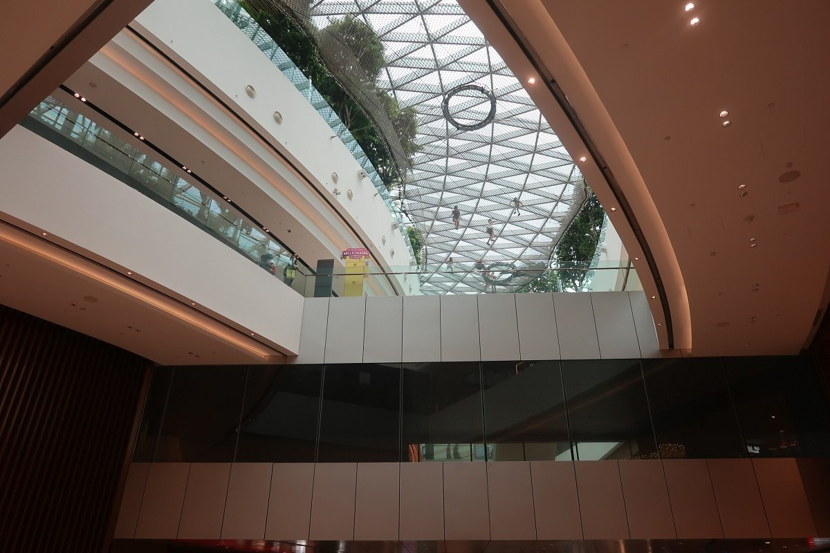 Jewel Changi Singapore Airport entrance