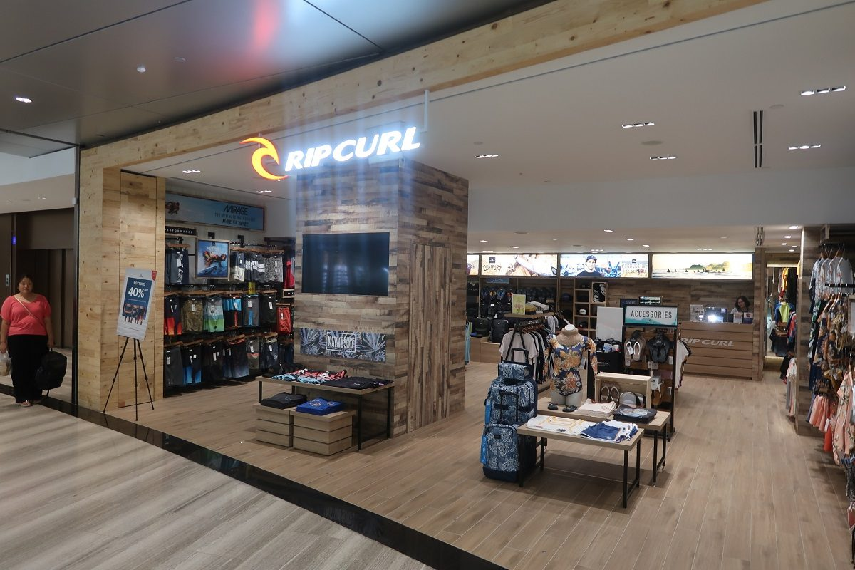 Jewel Changi Singapore Airport ripcurl