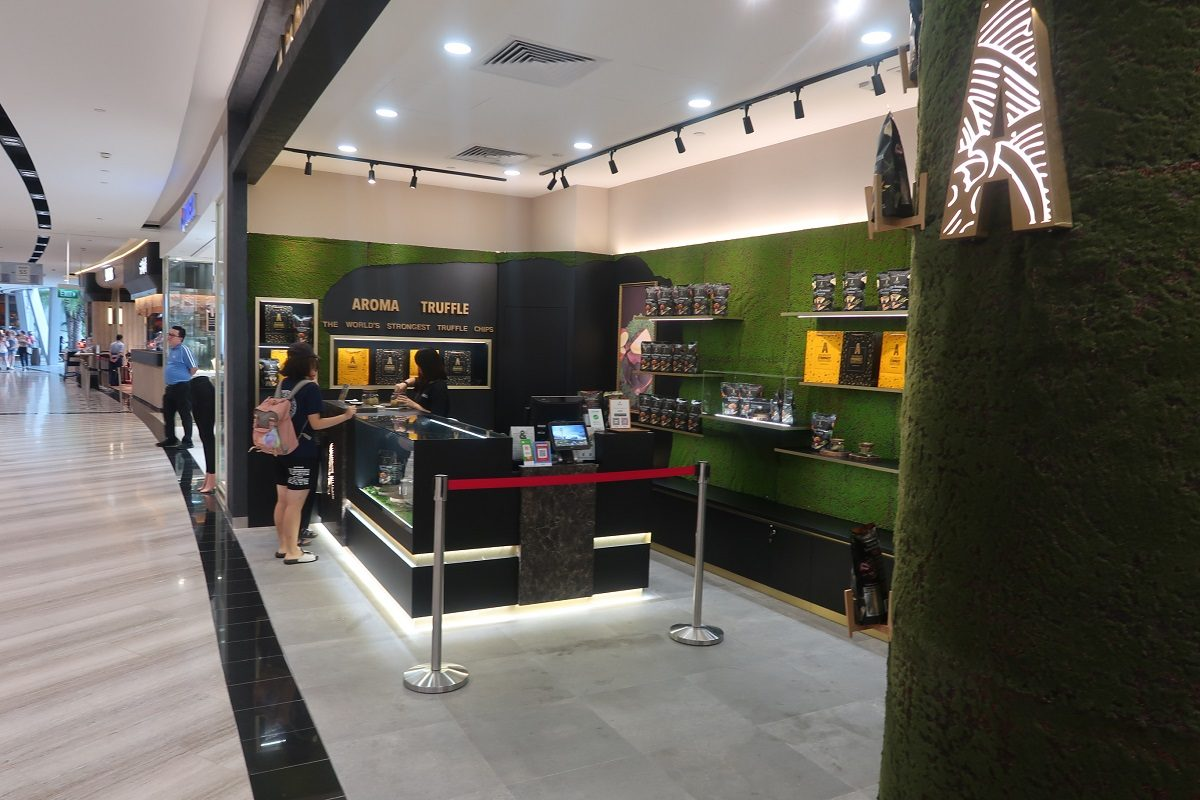 Jewel Changi Singapore Airport truffle shop