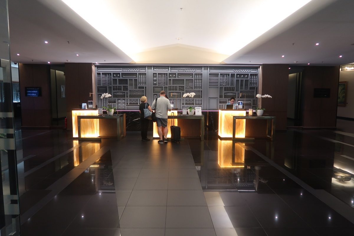 Malaysia Airlines KL Golden Lounge Satellite Terminal foyer 1