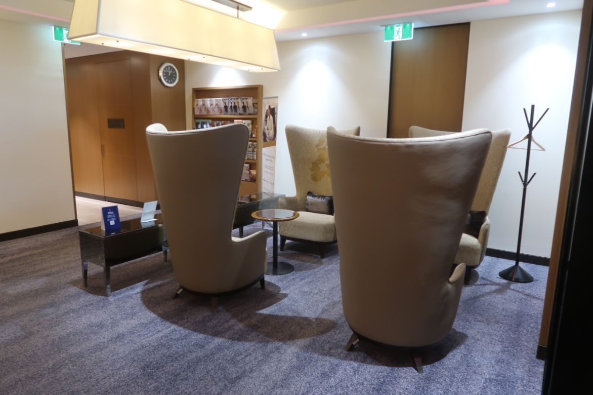 Singapore Airlines SilverKris Lounge Sydney seating