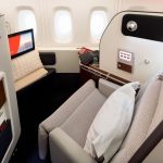 qantas a380 refurbished first class