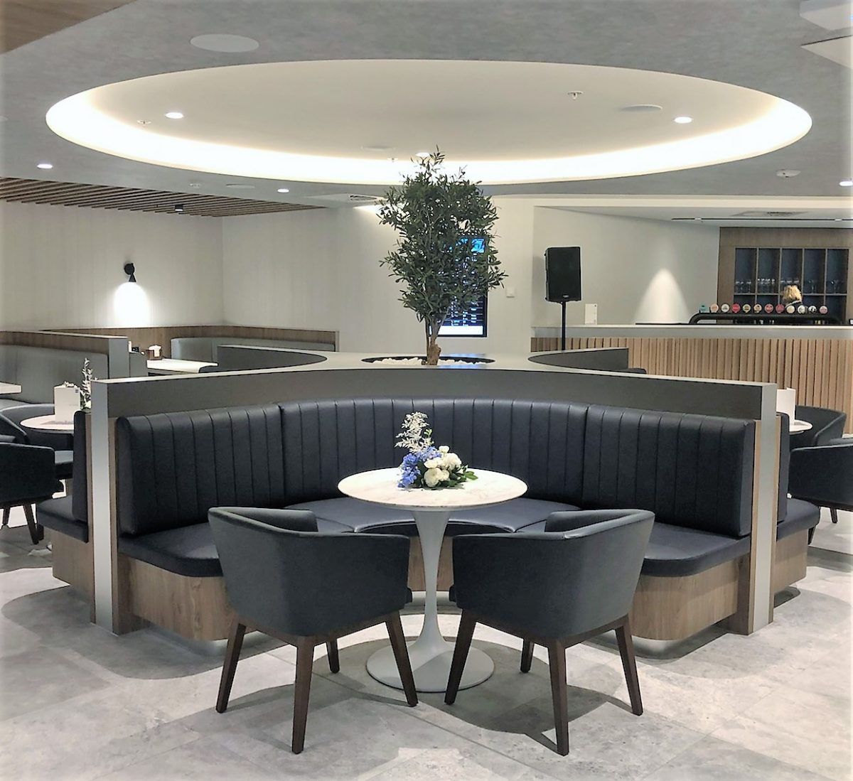 American Express Lounge, Sydney Airport: Dining area