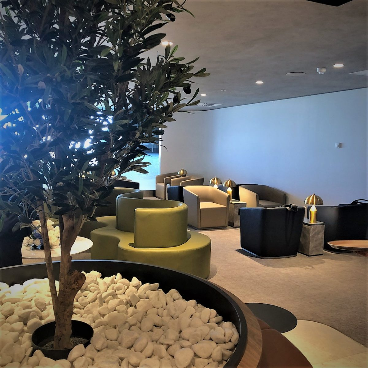 American Express Lounge, Sydney Airport: Relaxation area