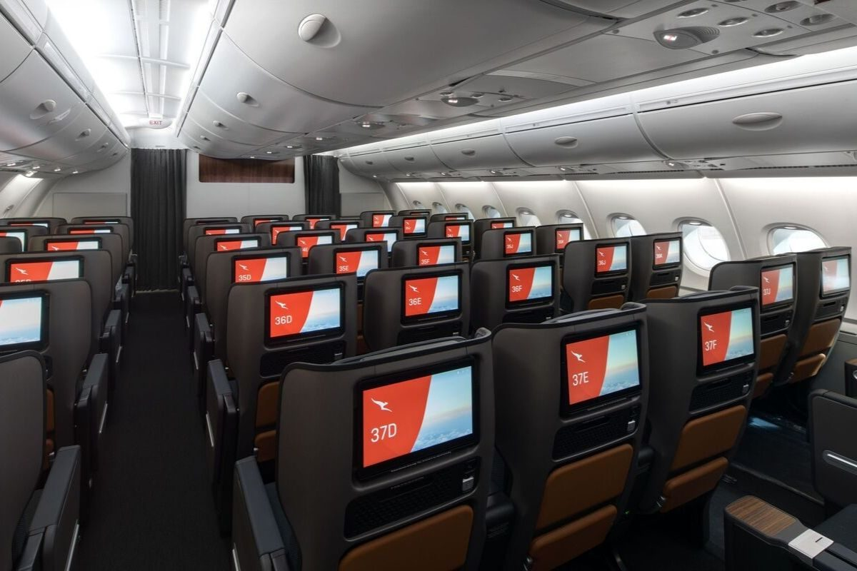 Qantas new A380 premium economy