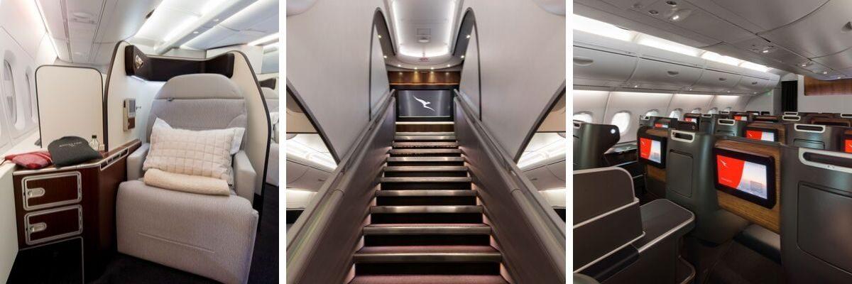 qantas refurbished a380