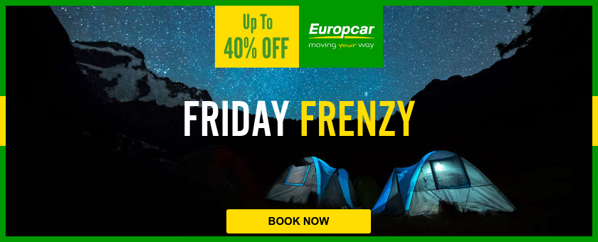 europcar black friday banner