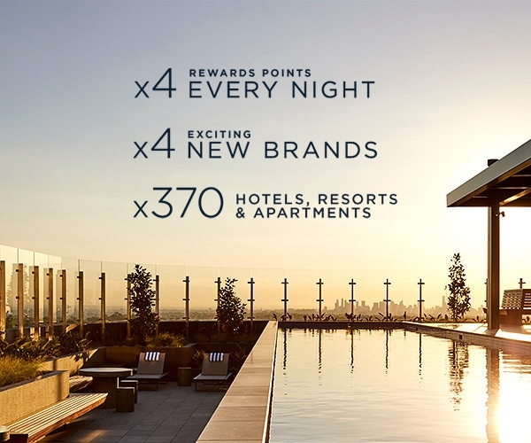 accor 4 x rewards points