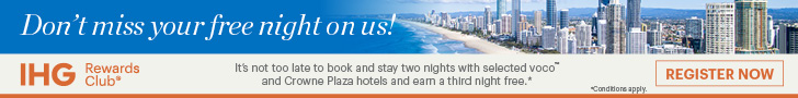 IHG Free Night reminder