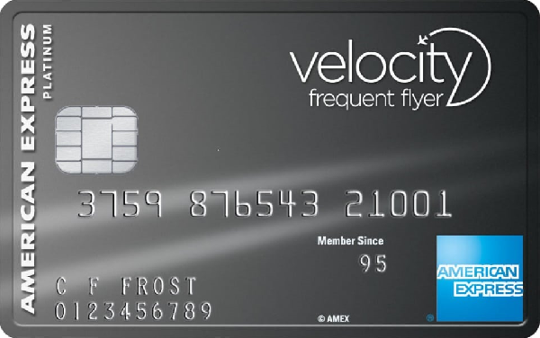 American Express Velocity Platinum Credit Card