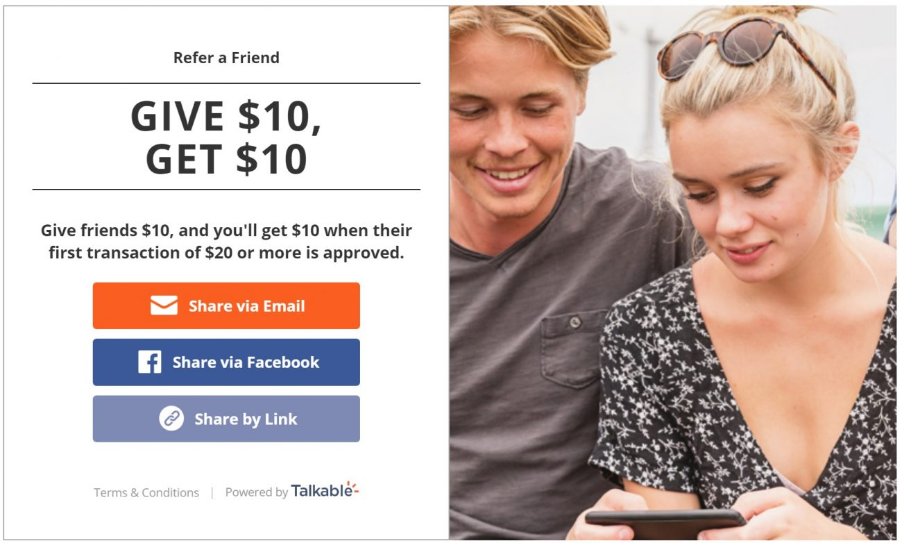 cashrewards refer a friend