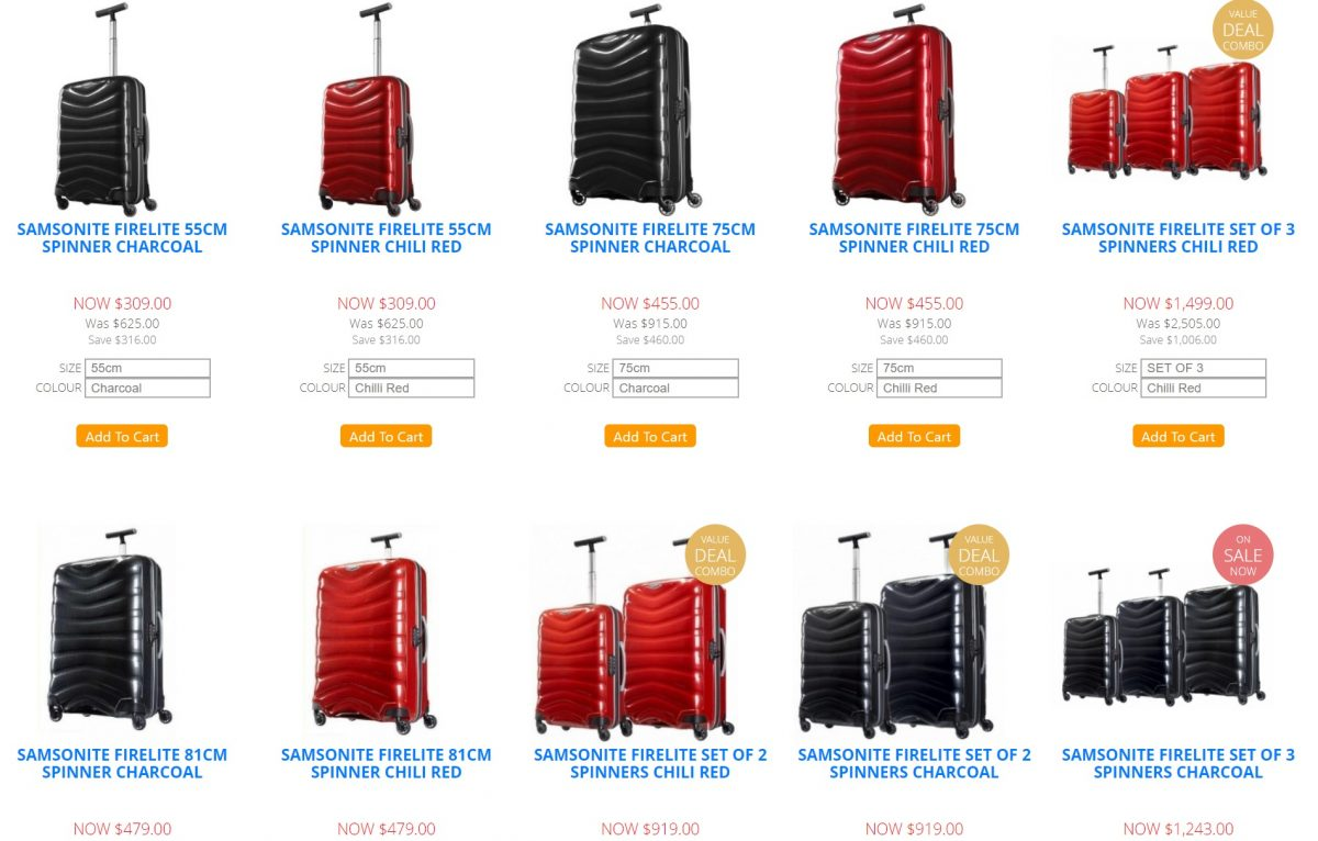 luggage gear black friday deals