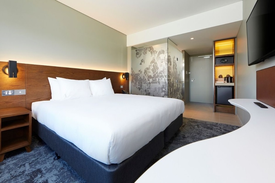 Holiday Inn Express Melbourne Southbank standard room