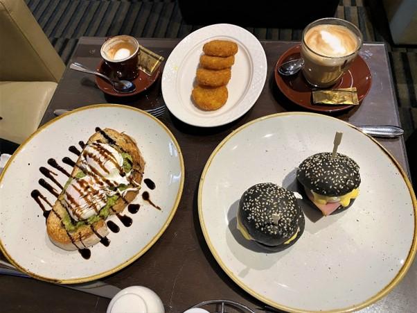 Intercontinental Melbourne The Rialto breakfast