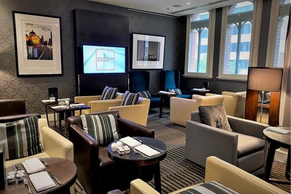 Intercontinental Melbourne The Rialto club lounge