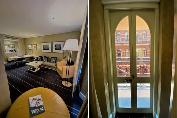 Intercontinental Melbourne The Rialto fitzroy suite view 2