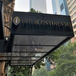 Intercontinental Melbourne The Rialto entrance