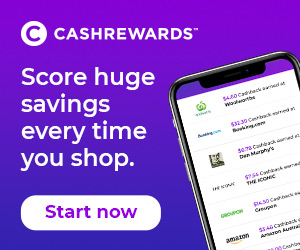 cashrewards huge savings
