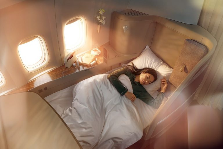 Cathay Pacific Sense of Harmony flat bed