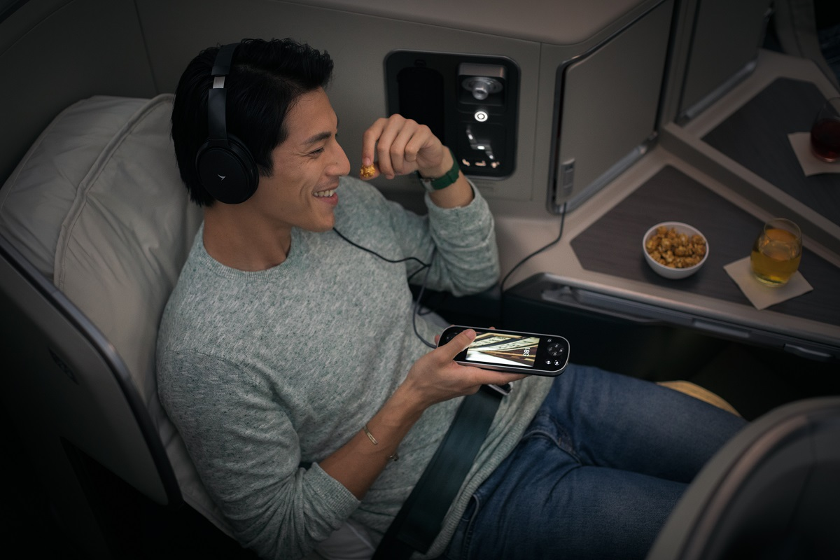 Cathay Pacific Sense of Harmony business class