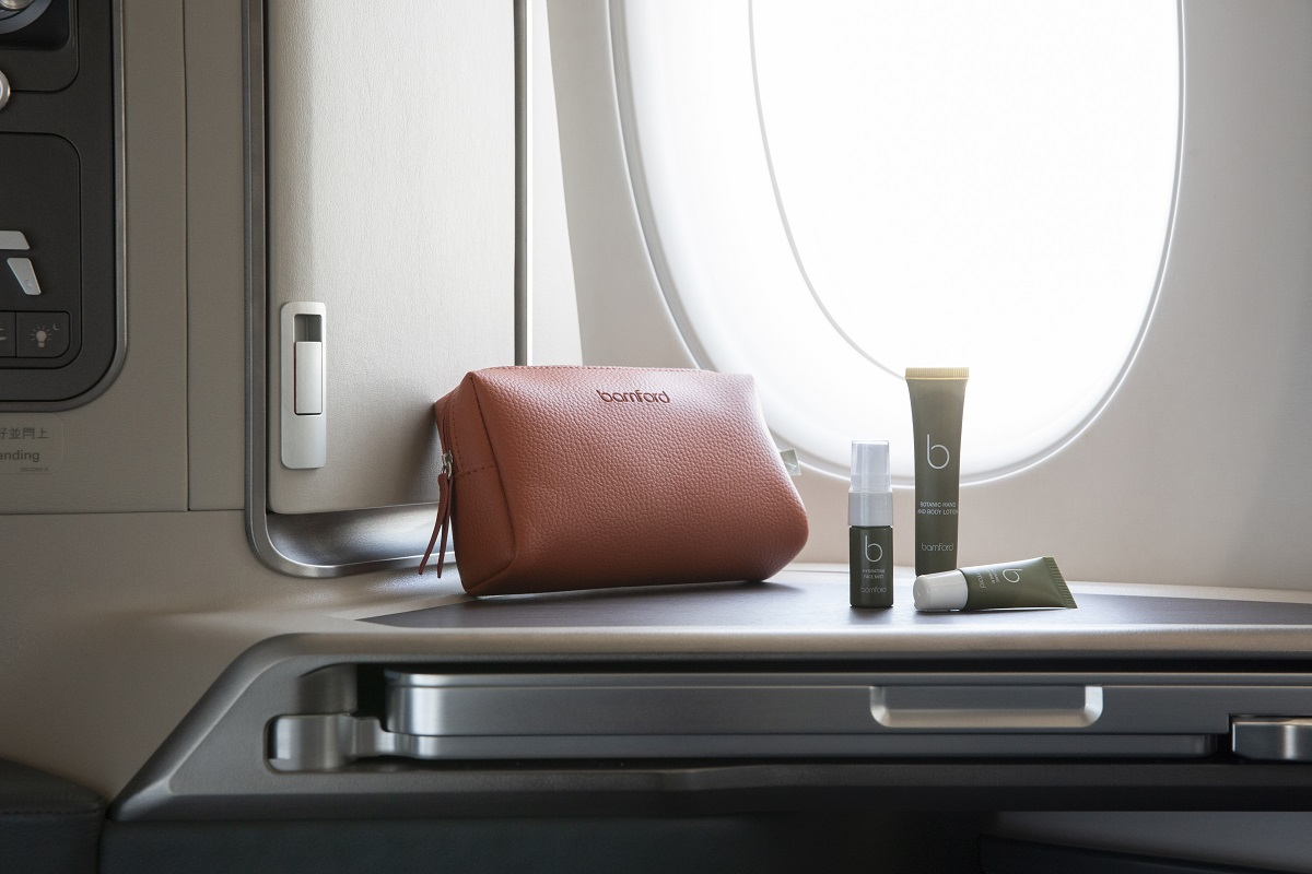 Cathay Pacific Sense of Harmony amenities kit
