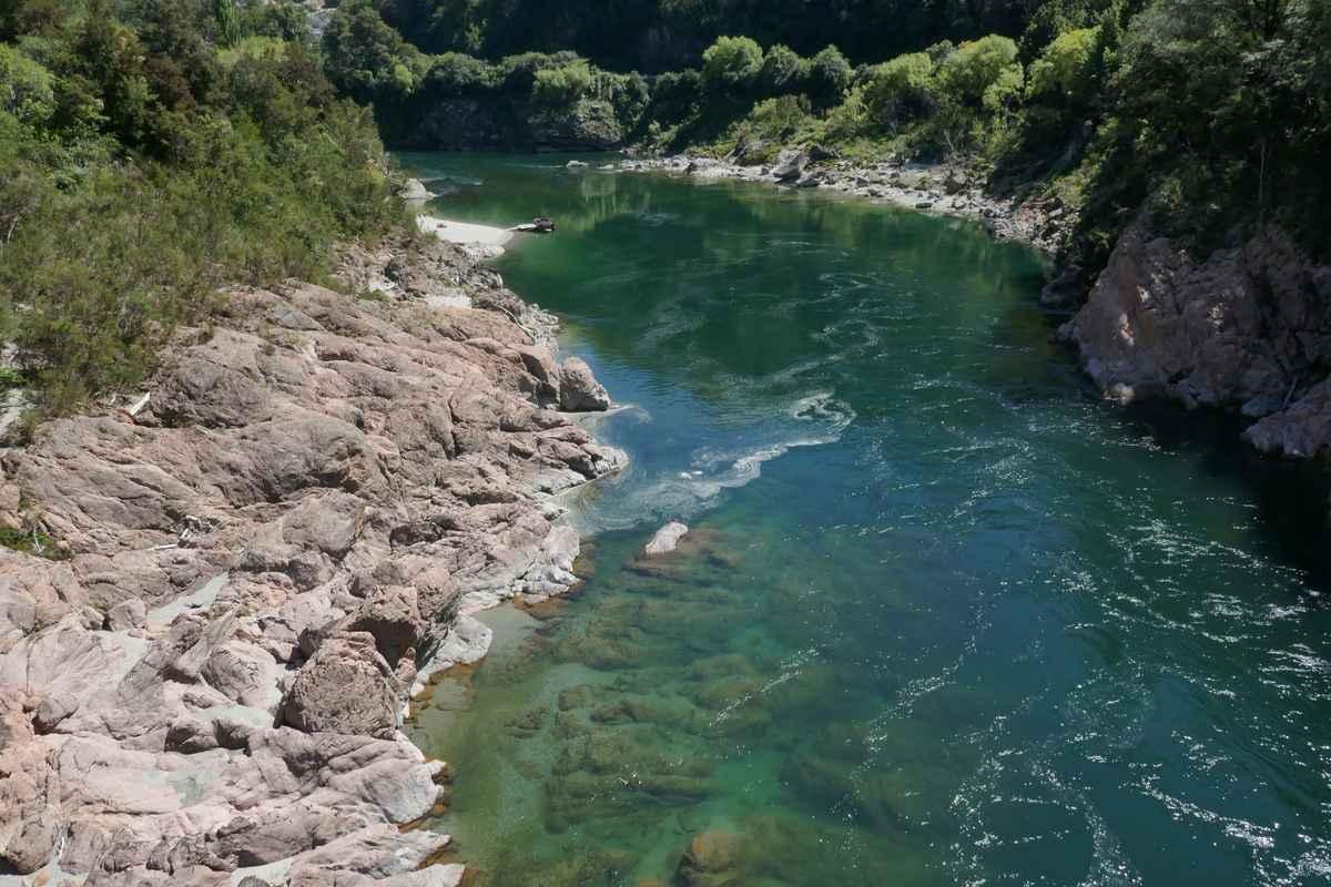 pelorus river wild west coast south island new zealand