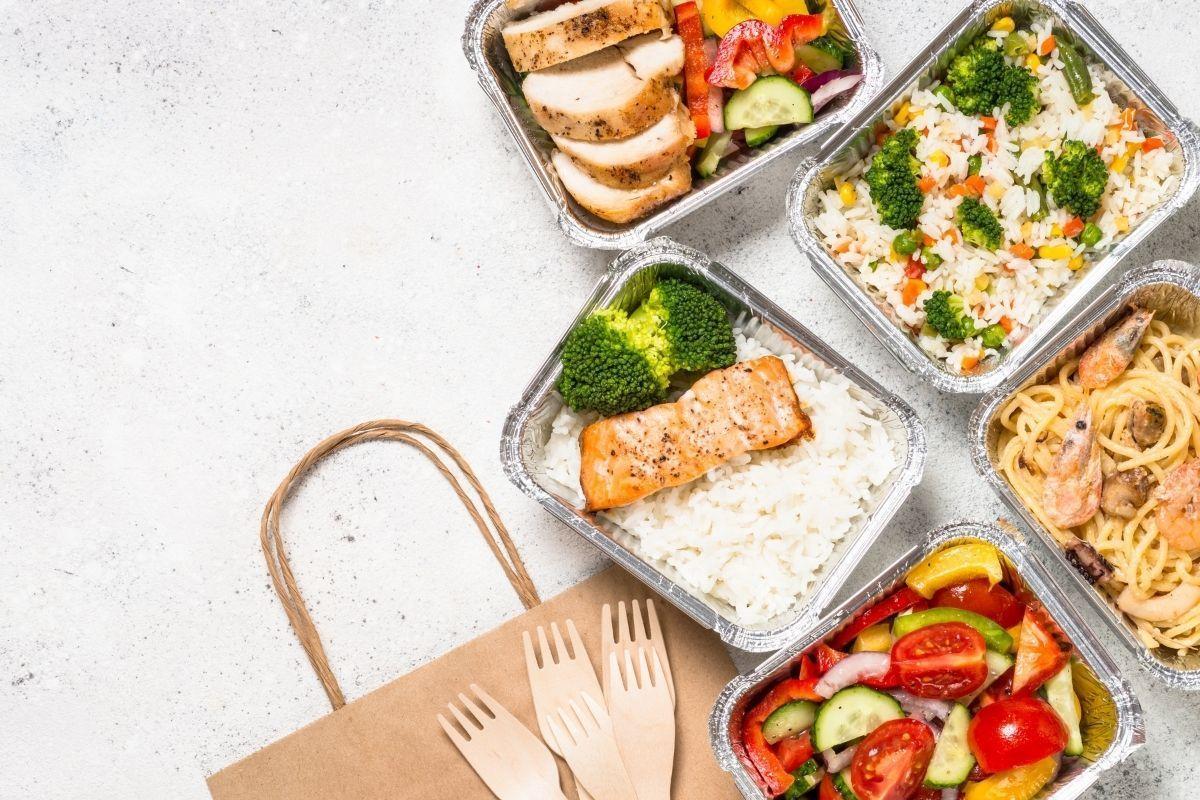 yummy and healthy salads