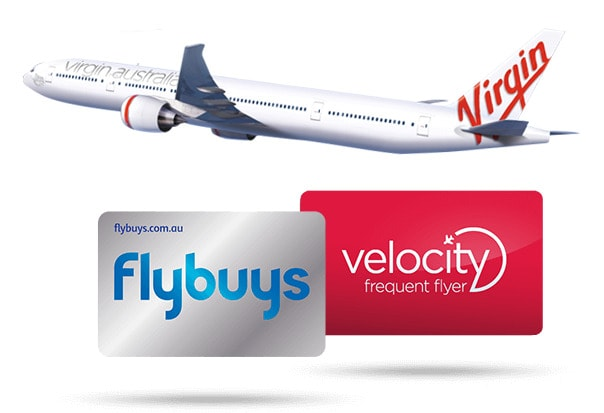 coles flybuys points velocity frequent flyer virgin australia