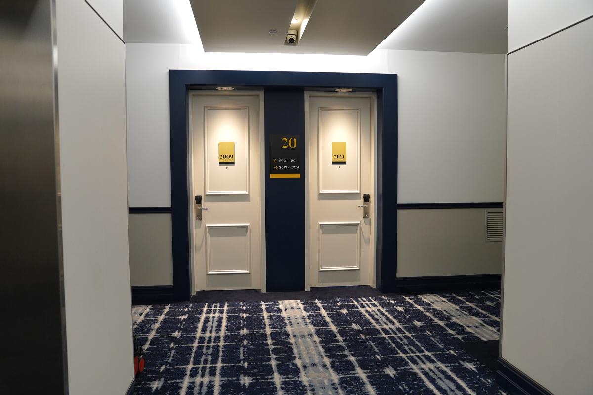 voco gold coast ocean view room doors entrance