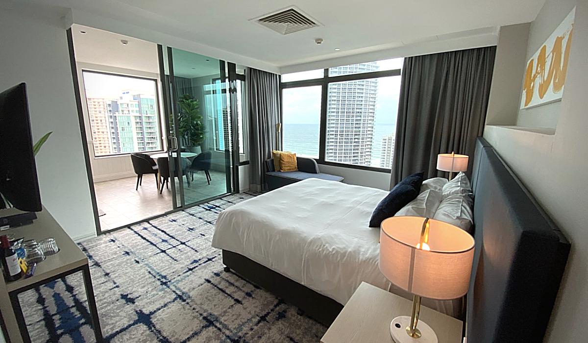 bedroom view to terrace