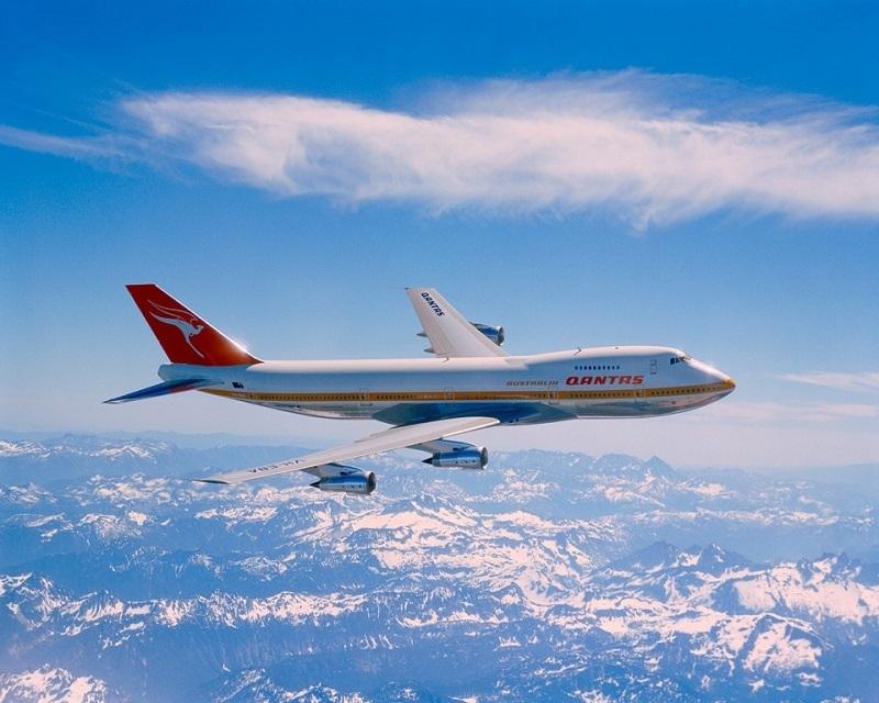 Qantas 747 1971