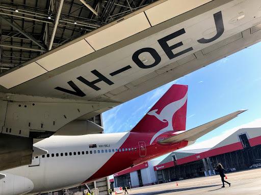 Qantas VH OEJ at 747 Farewell