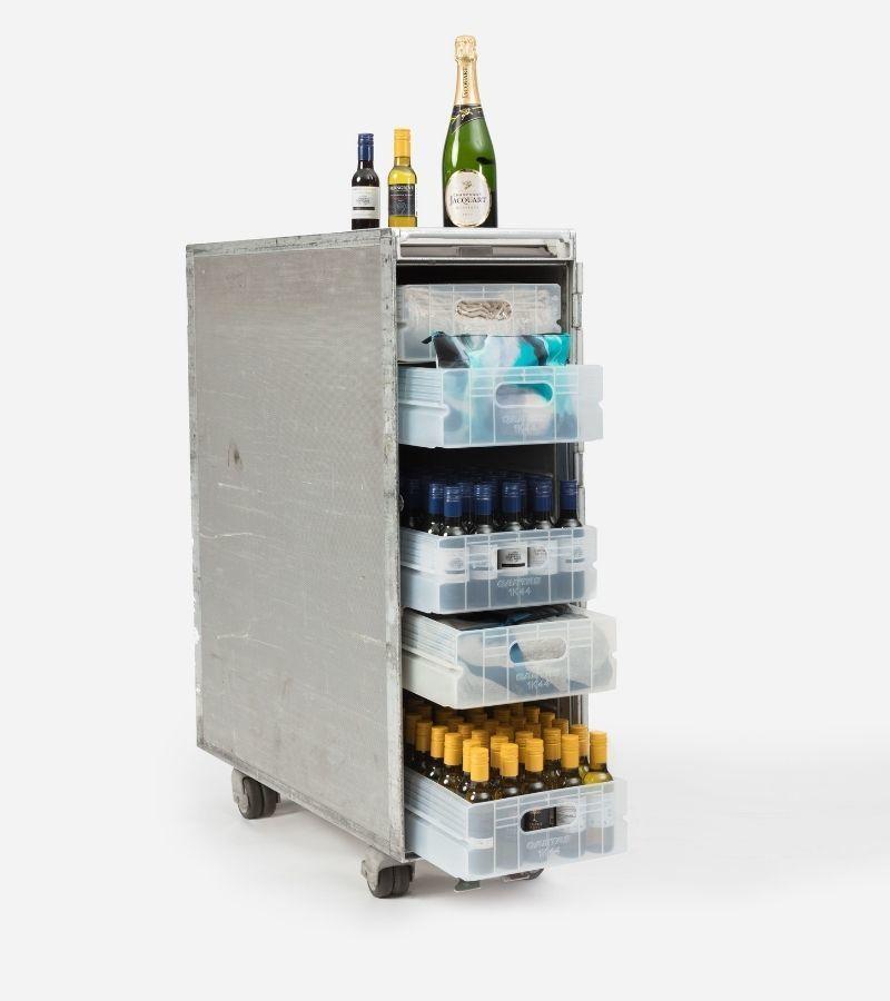qantas 747 bar cart