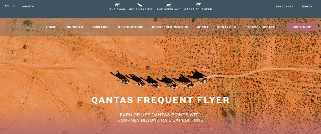 QFF Journey Beyond Rail Expeditions