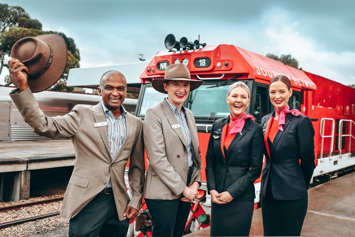 qantas journey beyond ghan railway launch