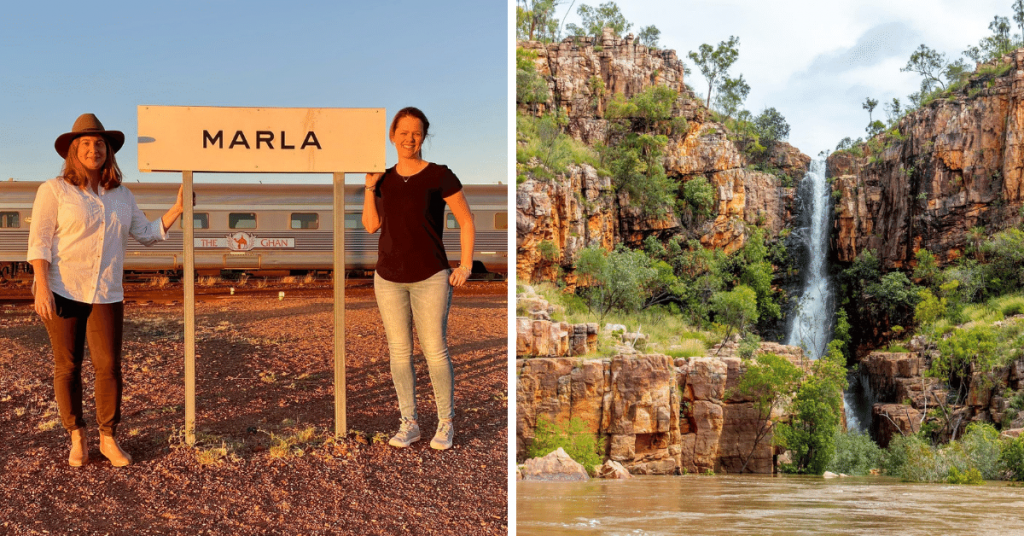 inclusive off-train excursions The Ghan